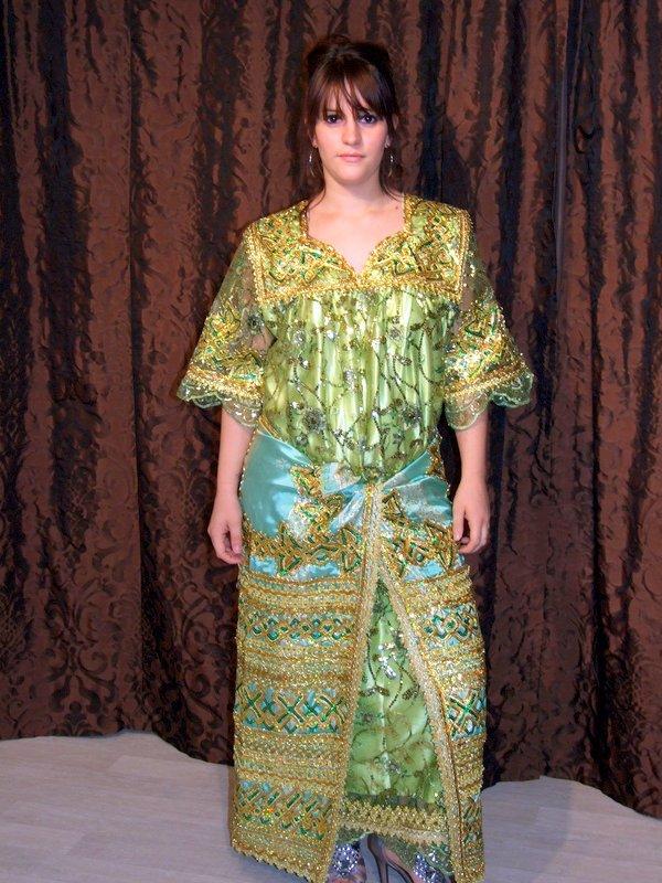 Kabyle Robe De Marie Negafa Algerienne Robe Kabyle Robe De  All about ...