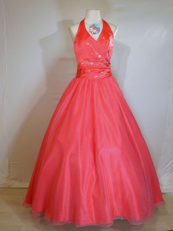 Robe de princesse en rose